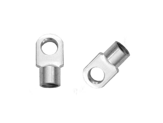 LX107-2 20mm center length Metal eyelets